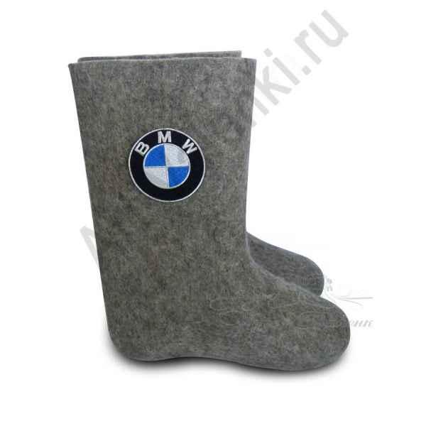 Валенки ручной валки высокие серые BMW с 25 по 28р.