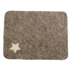 Коврик для сауны Знамя,серый арт.567