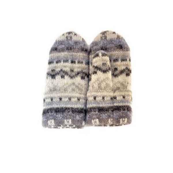 Варежки из исландской шерсти 08468-29