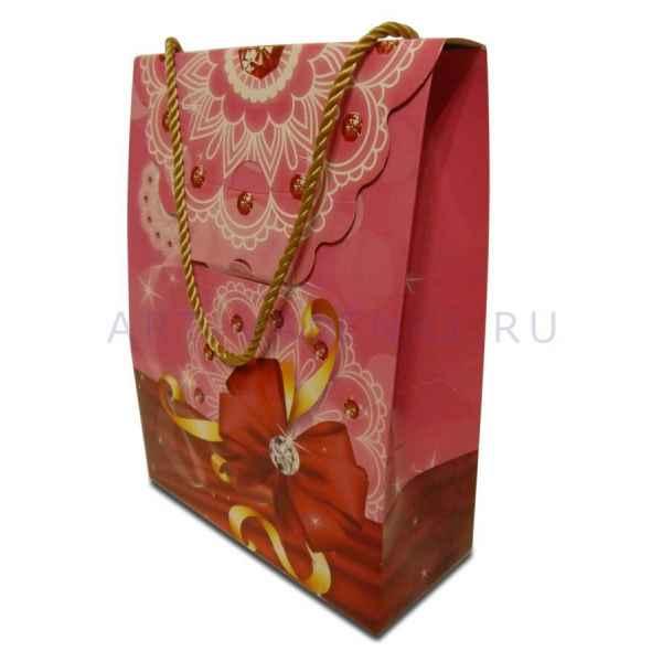 Подарочный пакет 22х16,5х7 см