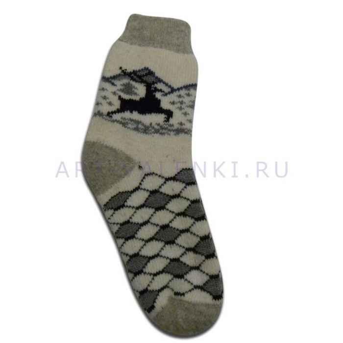 Купить Мужские шерстяные носки из овечьей шерсти