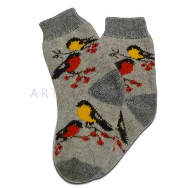 Женские шерстяные носки из овечьей шерсти арт.2746
