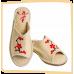 """Тапочки женские из войлока """"Сакура"""" на легкой не скользящей резиновой подошве с 36 по 41р."""