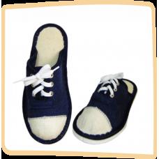 Тапочки детские Кеды синие