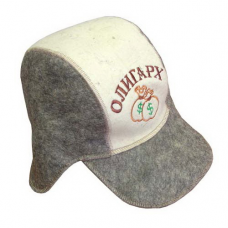 "Шляпа для сауны Бейсболка""Олигарх"""