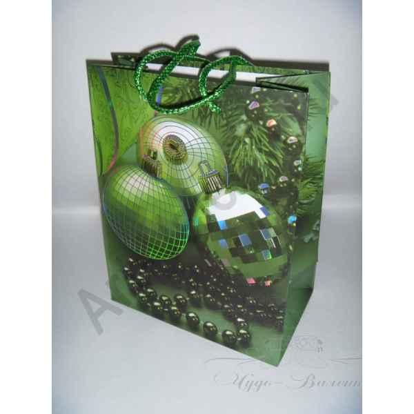 Подарочный пакет 23х18х10 см, арт.3.
