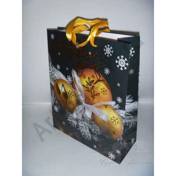 Подарочный пакет 26х32х10 см, арт.5.