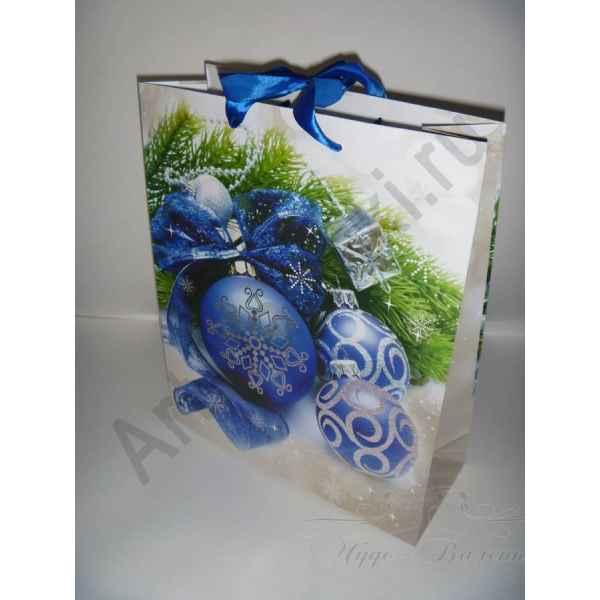 Подарочный пакет 26х32х10 см, арт.8.
