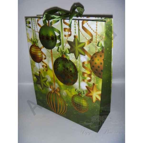 Подарочный пакет 26х32х10 см, арт.7.