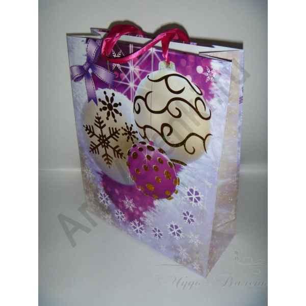 Подарочный пакет 26х32х10 см, арт.6.