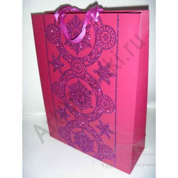 Подарочный пакет 42х32х12 см, арт.13