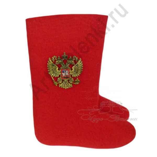 """Красные валенки, модель """"Российский герб-2"""""""