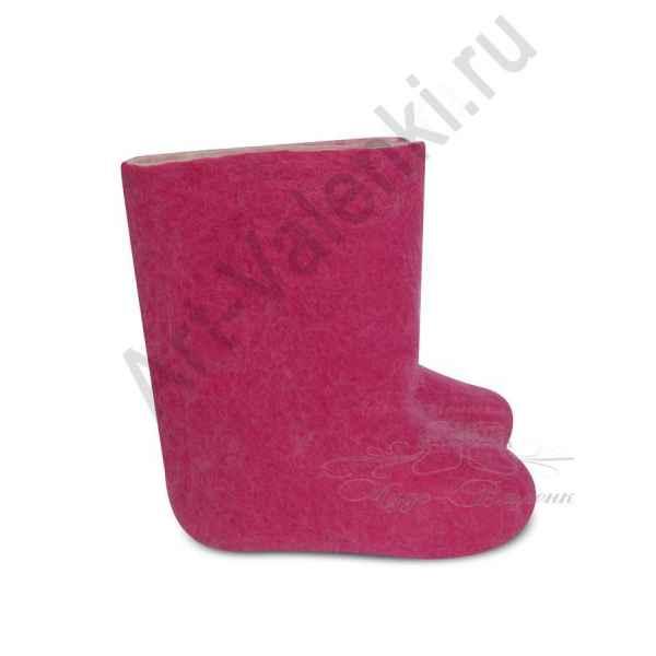 """Валенки розовые детские """"премиум-класса""""18-20 см"""