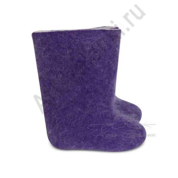 """Валенки фиолетовые детские """"премиум-класса""""18-20см"""