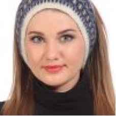 Повязка из исландской шерсти на голову арт.08304-94
