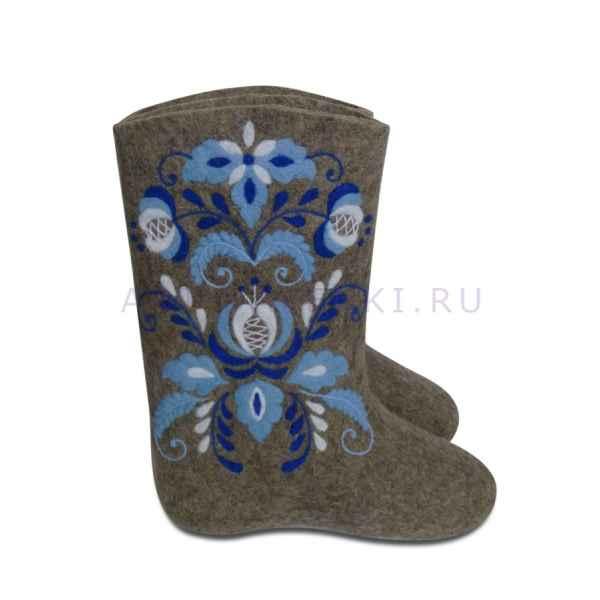"""Валенки ручной валки """"Эксклюзив-2270"""", 25р. (37)"""