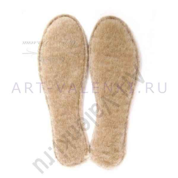 Стельки детские из австралийского мериноса с 26 по 34 размер