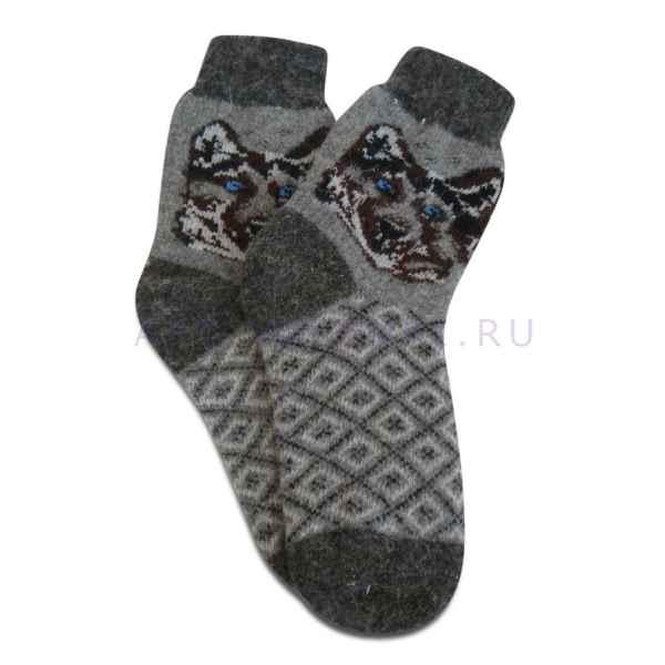 Носки из овечьей шерсти муж. арт.1319