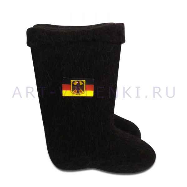 "Валенки ручной валки ""Флаг ФРГ""с 24(36) по 31(45)р."