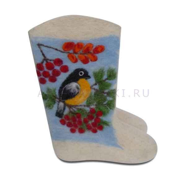 """Валенки ручной валки """"Эксклюзив-1803"""", 27 см (39-40 р.)"""
