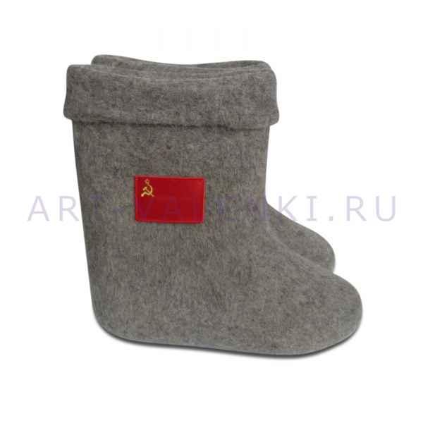 """Валенки ручной валки """"Флаг СССР""""с 24(36) по 32(46)р"""