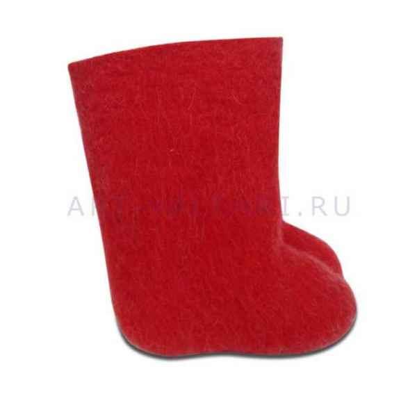 """Валенки красные детские """"премиум-класса""""16-17см"""