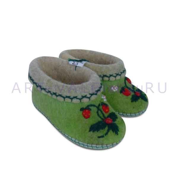 Валенки для дома детские ручной валки 16 см (26р.),мод.3312
