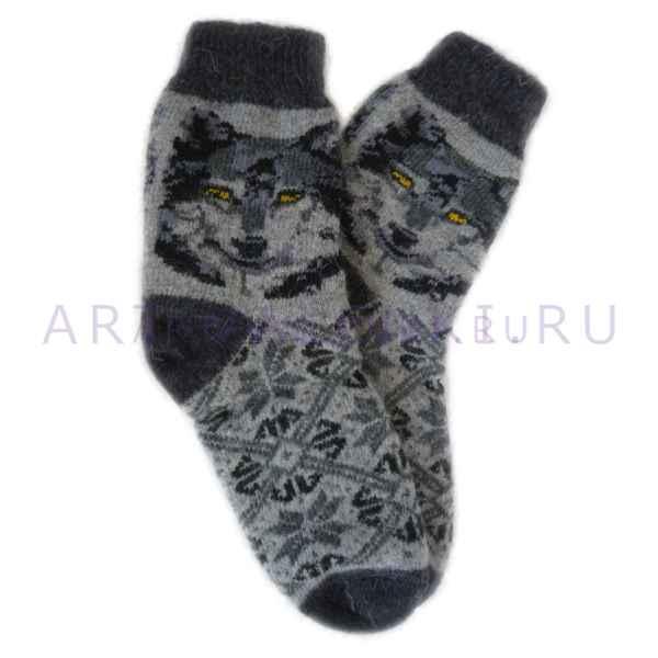 Носки из овечьей шерсти муж. арт. 3353