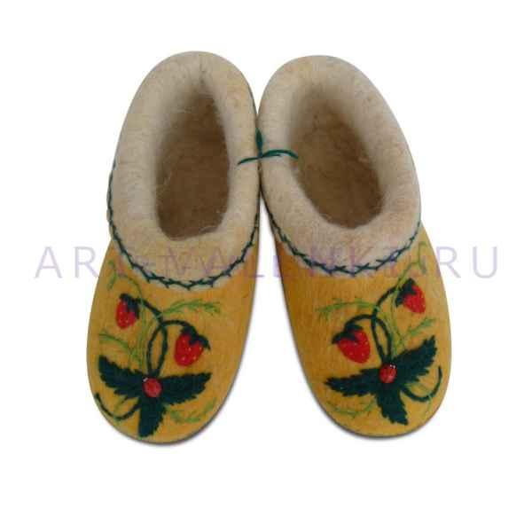 Пинетки детские ручной валки 20 см (31-32р.),мод.3319