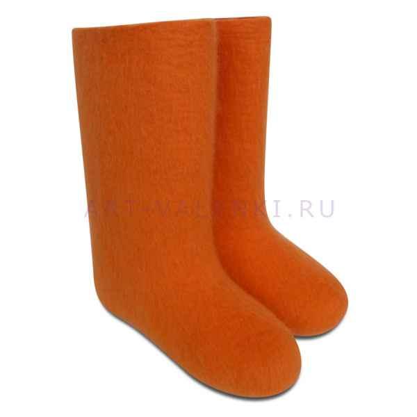 Валенки оранжевые