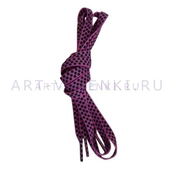 Шнурки розовые, длина 120 см