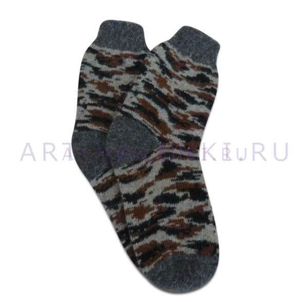 Мужские шерстяные носки из овечьей шерсти арт.3287