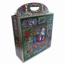 Коробка подарочная 34  х 34 х 11 см с ручками